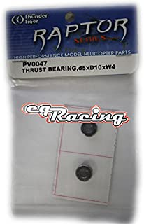 Thunder Tiger RC Helicopter Raptor 30 Thrust Bearing 5x10x4 PV0047