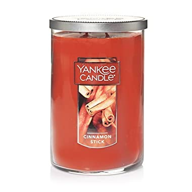 Yankee Candle Large 2-Wick Tumbler Candle, Cinnamon Stick