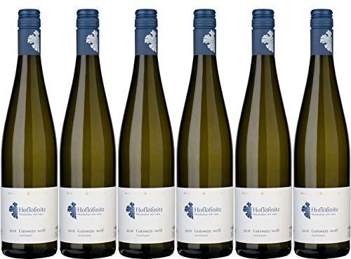 Hoflößnitz Radebeuler Lößnitz Gutswein weiß 2018 Trocken Ecovin Bio (6 x 0.75 l)