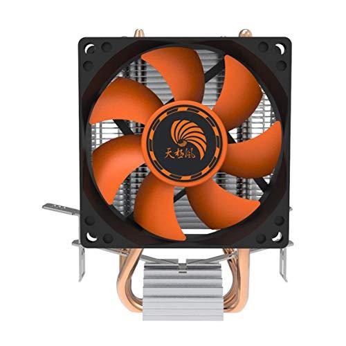 Ventilador de refrigeración del enfriador de la CPU, PC de aluminio súper silenciosa PC Cooler Cooler Disipador de calor del enfriador de la CPU para Intel 775/1155 Amd 754 / Am2-Pc Friend