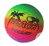 COOLMP Lot de 6 - Ballon Beach Volley 23cm