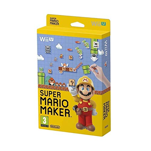 Super Mario Maker WiiU UK multi Artbook Edition