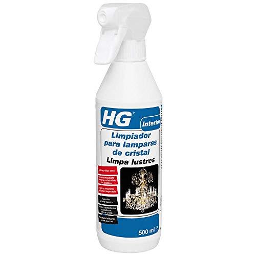 HG 167050130 - Limpiador para lámparas de cristal. (envase de 0,5 L)