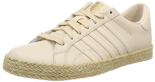 K-Swiss Damen Belmont SO Jute Sneaker, Beige (Bleached Sand/Gold 270), 40 EU
