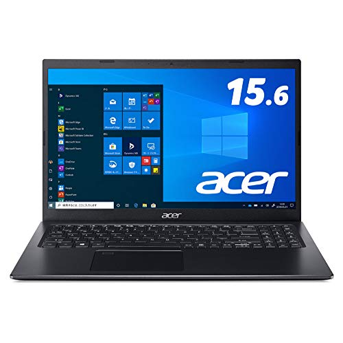 日本エイサー A515-56-H78U/KA Core i7-1165G7 8GB 256GB SSD ドライブなし 15.6型 Windows 10 Home black【Windows 11 無料アップグレード対応】