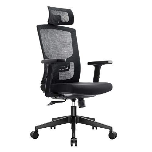 Komene Ergonomic Office Mesh Chair Adjustable High...