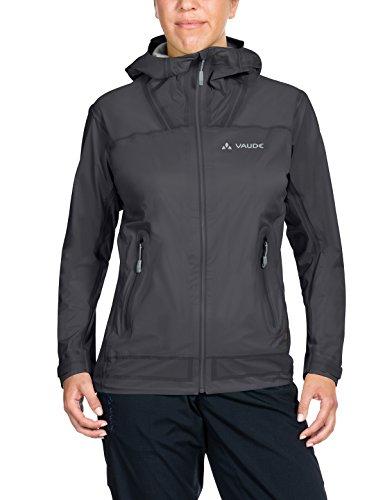 VAUDE Damen Zebru UL 3L Jacket Jacke, Iron, 34