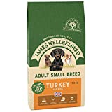 James Wellbeloved Complete Dry Adult Small Breed Dog Food Turkey and Rice,7.5 kg