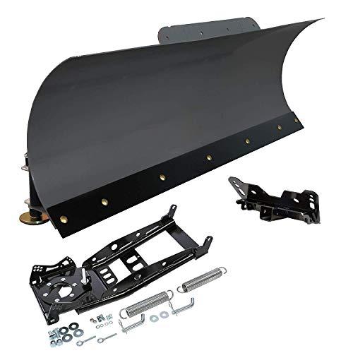 KFI 72' UTV Steel Blade Snow Plow Kit for Kawasaki Mule 1000 Diesel Mule...