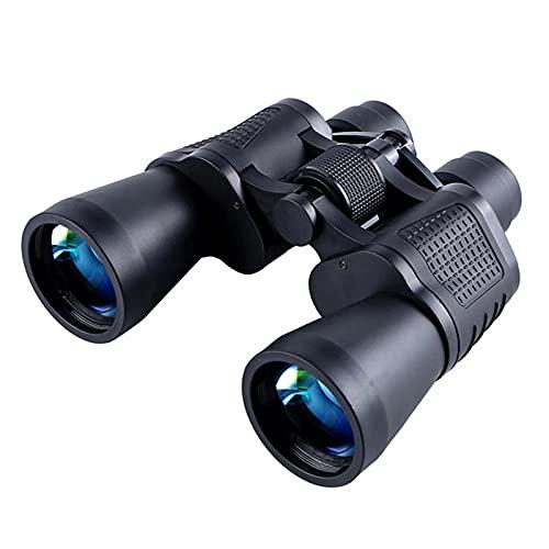 YDK 10x50 binoculares de telescopio Campo Ligero de Vista BAK4 Prisma para Campo de Campo bajo Campo de Vista de Animales Salvajes