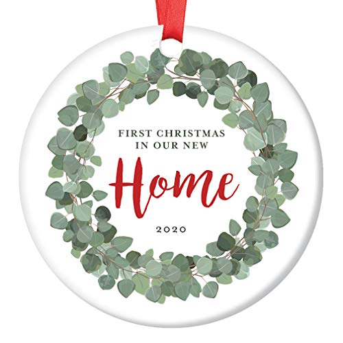 Client Gifts For Christmas 2020 Digibuddha New Homeowner 1st Christmas 2020 Eucalyptus Wreath