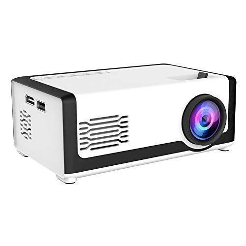 Mini proyector, proyector de video portátil LED Full HD 1080P, proyector de...