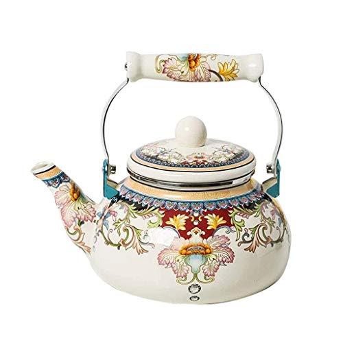 CUJUX Tetera, cerámica Caldera de té, té Ollas de Taza de té, pote del té de cerámica, Esmalte Inicio Gruesa Cortina Pot hervidor eléctrico, Cocina de té Cafetera Fogón de Gas