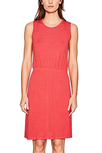 ESPRIT Damen 067EE1E011 Kleid, Rot (Red 630), Medium