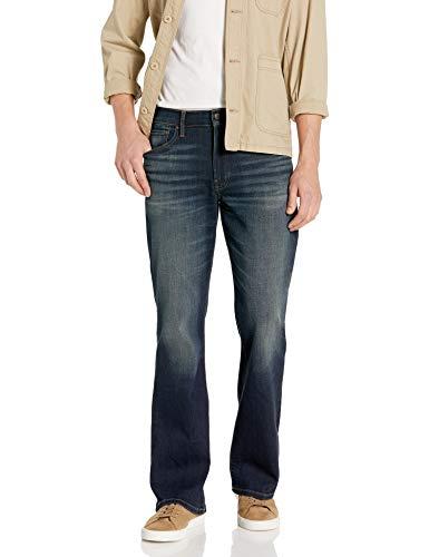 Lucky Brand Men's 367 Vintage Bootcut Jean, Tinted Sena, 34W X 32L