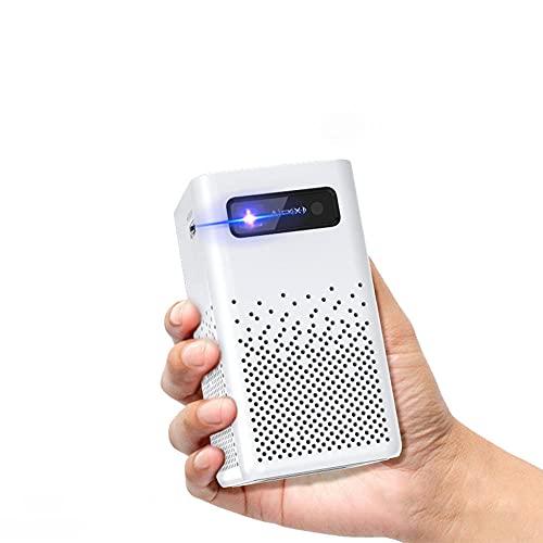 Mini Beamer,Projektor 1920*1080P,Dual Lautsprecher,Beamer Heimkino, Full HD mit ±50°4D Trapezkorrektur Unterstützt 4k & Zoom,30000 Stunden LED Beamer Kompatibel mit TV Stick,iOS/Android