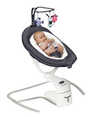 Babymoov - Swoon Motion, BALANCÍN eléctrico para bebés 3 en 1, Peso máximo del bebé 9 kg, 65 x 72 cm