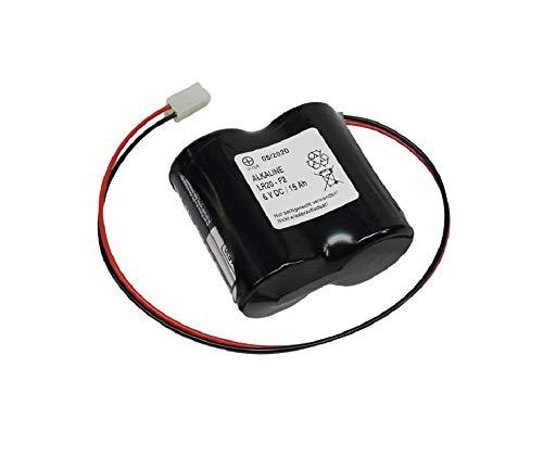 Batterie kompatibel ABUS Security-Center für 2WAY-Funk-Außensirene 3V Panasonic Powerline ABUS FU2986 FU8220 FU8222 FUSG50000