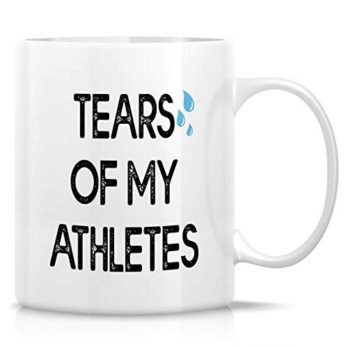 330ml Tazas de té Tazas para espresso Lágrimas mis atletas Athletic Sport Co_A-ch Trainer Taza bebida café Regalo Vajilla de Agua/Leche para Hogar,Oficina
