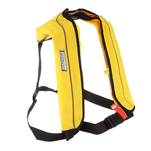 Why Should You Buy Seachoice 85800 Inflatable Personal Flotation Device (PFD) – Low-Profile Life V...