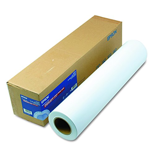 "Epson S041638 Premium Glossy Photo Paper Rolls, 270 g, 24"" x 100 ft, Roll,White"