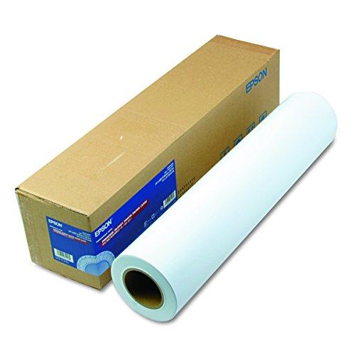 Epson S041638 Premium Glossy Photo Paper Rolls, 270 g, 24' x 100 ft, Roll,White