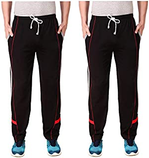 Cynak Men's Track Pants (Pack of 2)