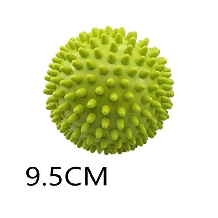 研磨押し下げる寛大さとげのボール - グリーン