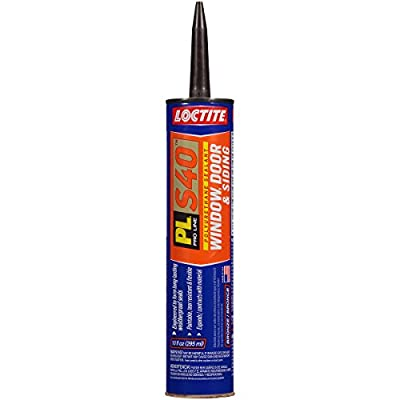 Loctite PL S40 Polyurethane Window, Door and Siding Sealant, 10 Ounce Cartridge, Various Size, Color