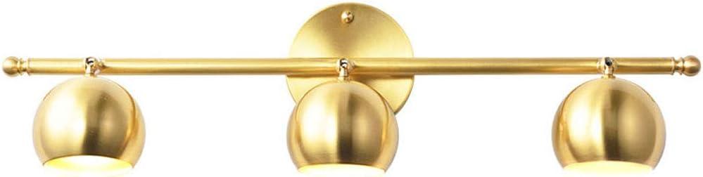 Mirror Front Lights Copper Bathroom New York Mall Wall Lamp Va Modern Super-cheap