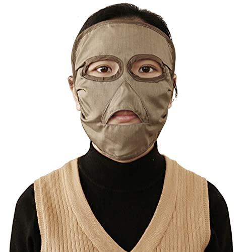 CEXTT 100% Silberfaser Baumwollmaterial Elektromagnetische Strahlungsschutz Maske Computer Raum...