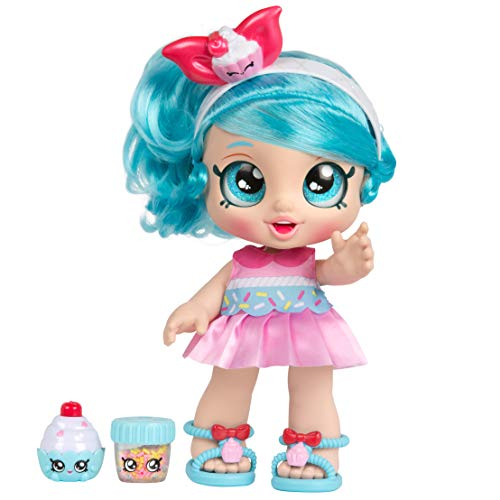 Kindi Kids Snack Time Friends - Pre-School Play Doll, Jessicake - for Ages 3+ | Changeable Clothes and Removable Shoes - Fun Snack-Time Play, for Imaginative Kids