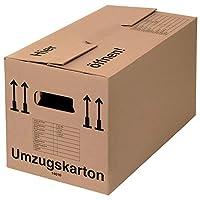 ABMESSUNG: Innenmaß 590 x 318 x 328 mm (L x B x H) - Außenmaß 600 x 328 x 340 mm (L x B x H) - Fassungsvermögen von 61,5 Litern. NACHHALTIG: Die Archivkartons mit 3-facher Griffverstärkung sind aus 100% recycelter Pappe gefertigt und mehrfach wiederv...