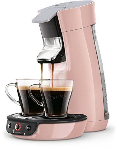 Senseo Viva Caf? HD6563/30 coffee maker Freestanding Pad coffee machine Pink 0.9 L 6 cups Fully-auto Viva Caf? HD6563/30, Freestanding, Pad coffee machine, 0.9 L, Coffee pod, 1450 W, Pink