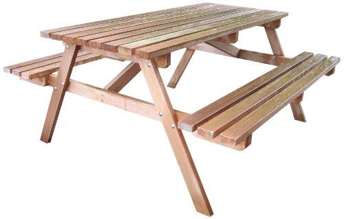 Tuindeco 30.0008 picknicktafel van hardhout 160 x 150 cm