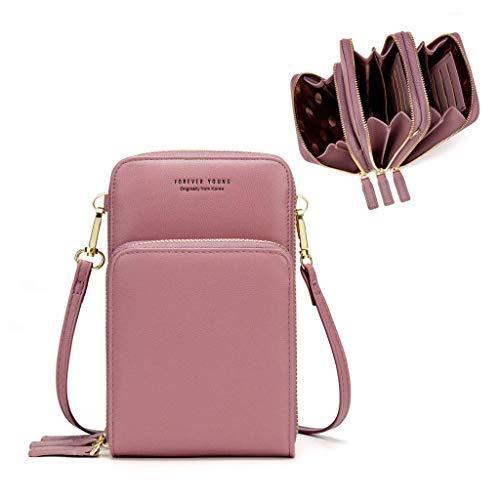 Femmes petit téléphone portable bandoulière sac à...