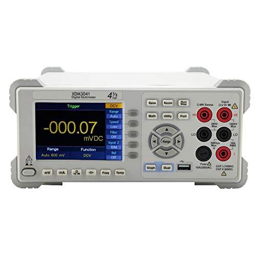 Multímetro True RMS Digit Multímetro modo de gráfico especial con LCD de alta resolución para electricista(European regulations)