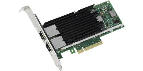 Intel X540-T2–-Netzwerk (verkabelt, PCI-e, Ethernet, 10000Mbit/s, X540, 100, 1000, 10000Mbit/s)