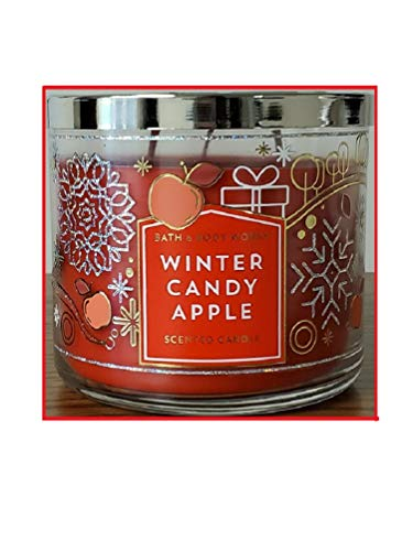 Bath & Body Works 3-Wick Scented Candle in WINTER CANDY APPLE Candle