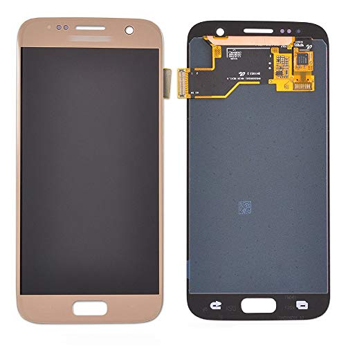 TY Repair Parts,for Samsung Galaxy S7 Display Touch Screen Digitizer Assembly Replacement Part. (Gold)
