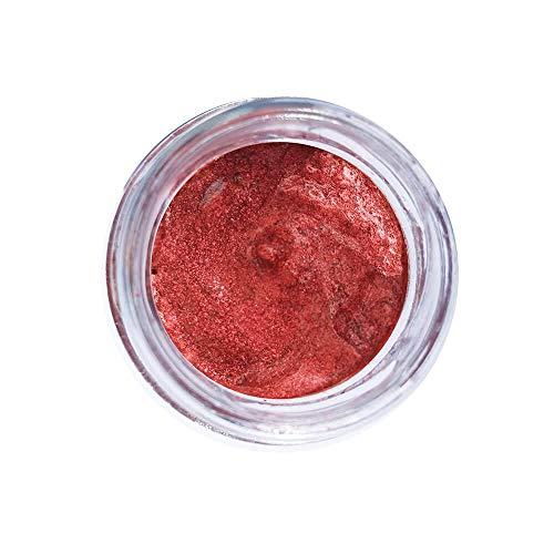 Glitter Natural e Biodegradável em Pasta 33ml - Pura Bioglitter Vermelha