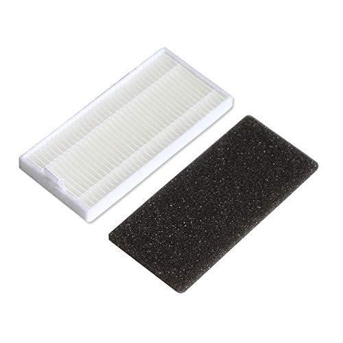 Kingbra - Kit de filtros de alta eficiencia y esponja de repuesto para Dyson621 620 y accesorios de aspiradora robótica (blanco)