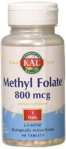 Kal Ultra Folate 800mcg 90 Tablets