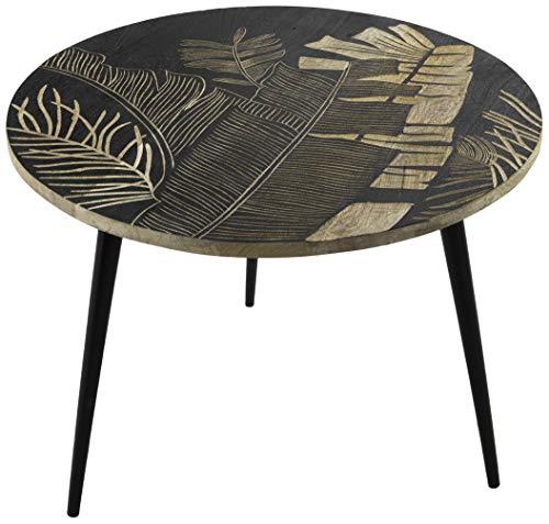 Amadeus - Table Basse gravée diamètre 60 cm