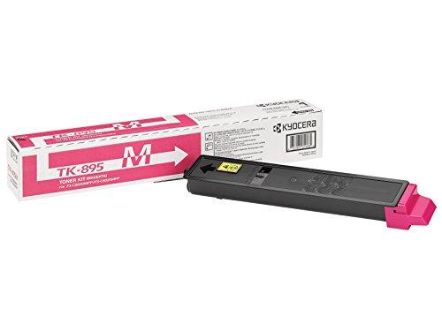Kyocera TK-895M Original Toner-Kartusche Magenta 1T02K0BNL0. Kompatibel für FS-C8020MFP, FS-C8025MFP, FS-C8520MFP, FS-C8525MFP