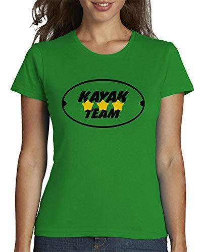 tostadora - T-Shirt Shirt Kajak - Sport - Frauen Grün XL