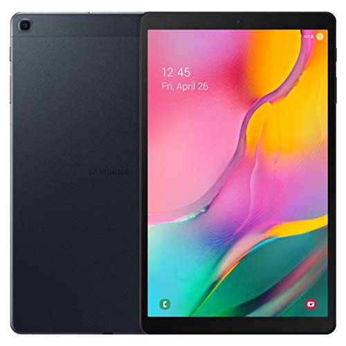 2019 Samsung Galaxy Tab A 10.1-inch Touchscreen (1920x1200) Wi-Fi Tablet Bundle, Exynos 7904A Processor, 3GB RAM, 128GB Memory, BMali-G71 MP2 Graphics, Bluetooth, Tigology Case, Android 9.0 Pie OS