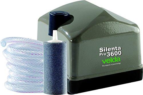 Velda 125090 Professionelles Belüftungsset für Teiche bis 15000 Liter, 35 Watt, Silenta Pro 3600