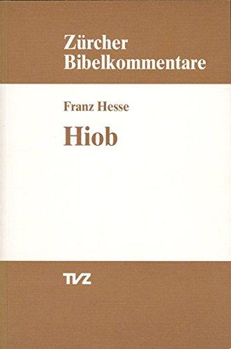 Hiob (Zürcher Bibelkommentare. Altes Testament, Band 14)