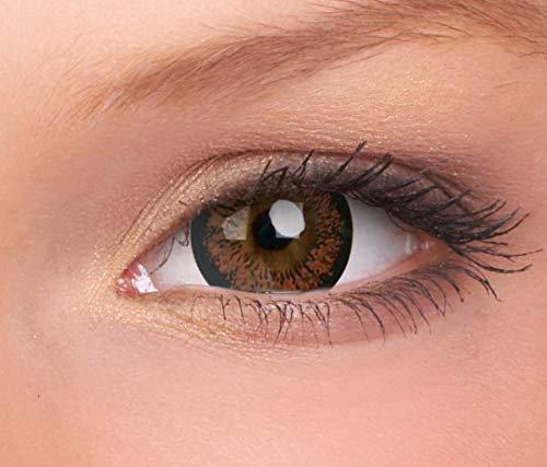 Farbige Kontaktlinse Sparkle Iced Coffee Monatlicher Einweg 14 mm stärke 0.00 von ColourVUE entfernt